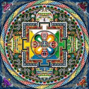 Mandala-Avalokiteshvara